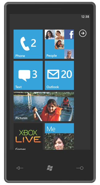 """Microsoft launches the """"Windows Phone 7 Series"""" mobile operating system 02-15-10winphone2"""