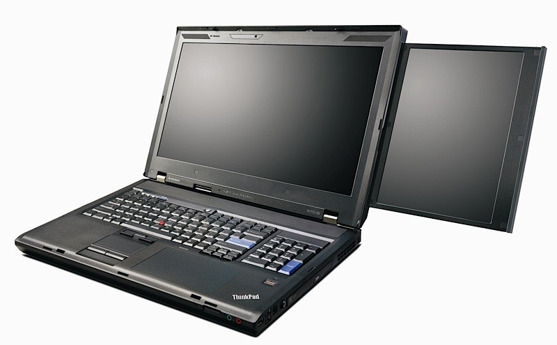 Lenovo ThinkPad X201 and W701 press shots