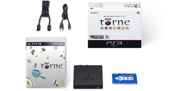PS3's Torne DVR adapter gets moved up to March in Japan, still never elsewhere