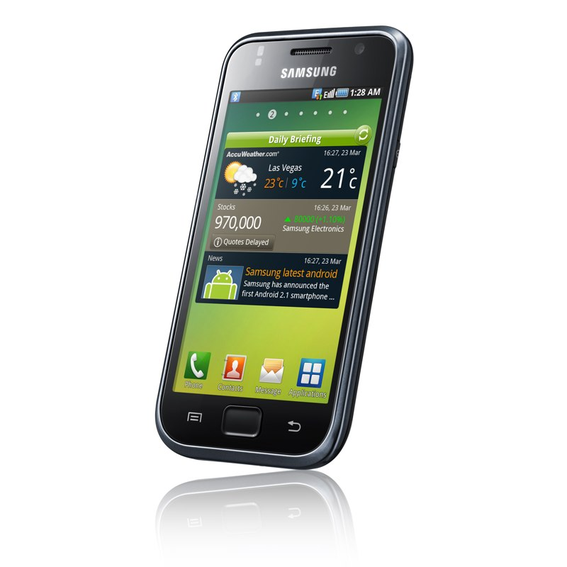 Samsung GT-i9000 Galaxy S: Sexy, Slim and Smart