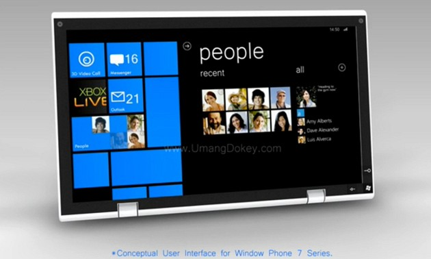 Windows Phone 7 Tablet