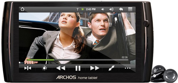 Archos 7 and 8-inch Home Tablets