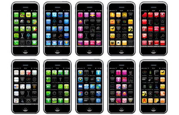 iphone font created out of 540 apps and a love for the arcane video
