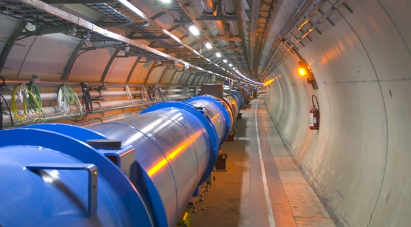 Large Hadron Collider to search for God Particle using 7 TeV proton collisions, via live webcast