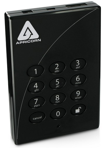Apricorn's Aegis Padlock Secure USB HDD goes Pro, gets solid state