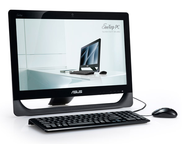 ASUS's 20-inch ET2010 EeeTop models with Ion power detailed