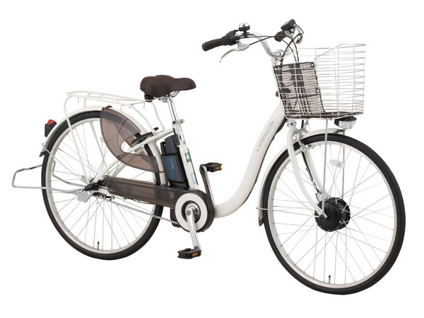 Sanyo's new SPL Eneloop hybrid bike charges on flats to pull you up hills