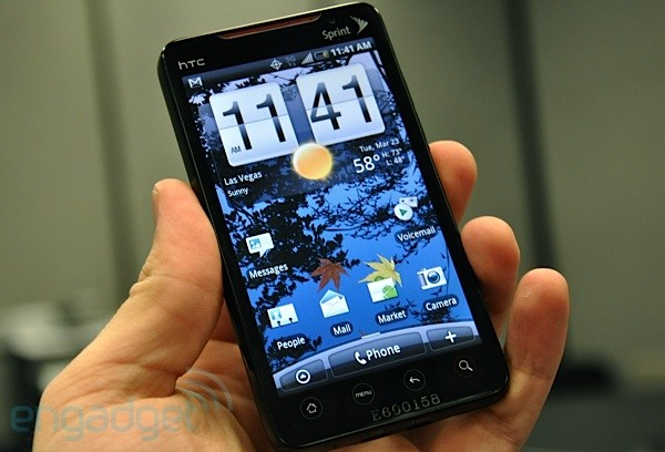 HTC EVO 4G Android Smartphone Sprint