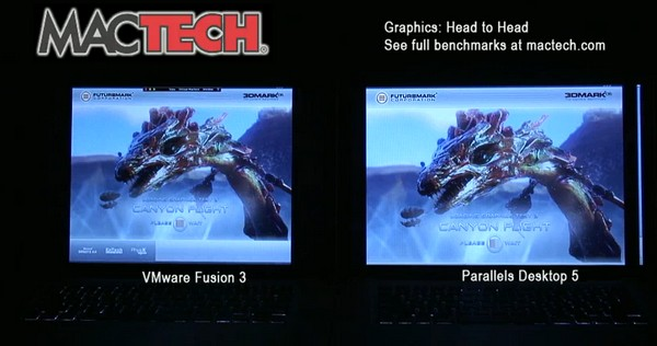 Mac virtualization face-off: VMware Fusion 3 vs. Parallels Desktop 5 (video)