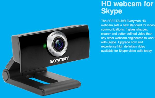 Freetalk Everyman HD Webcam