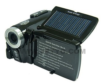 Jetyo's HDV-T900 solar-powered camcorder will capture only your brightest holiday memories (video)