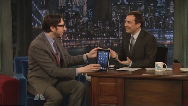 Josh, Jimmy and the iPad