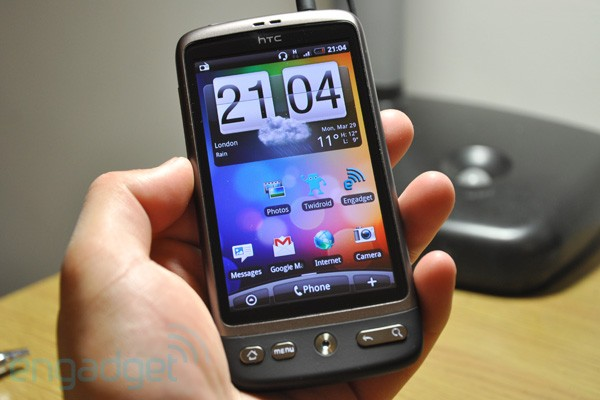 HTC Desire reviewed by Engadget