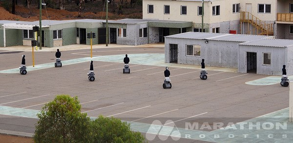 Segway Robot Mobility Platform bots used for sniper target practice, other nefarious deeds