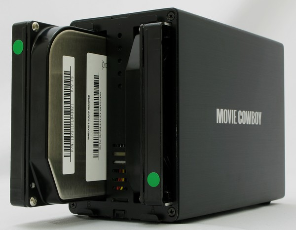 DC-MCNAS1 Movie Cowboy NAS will wrangle your torrents, herd your HDDs