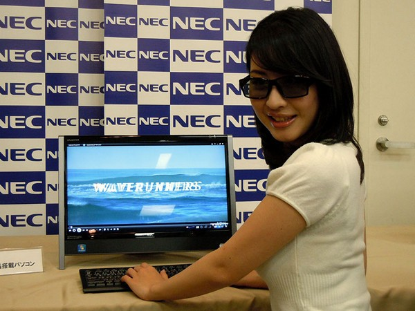 NEC's 3D all-in-one PC set to polarize the market this year