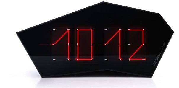 Reflectius Laser Clock