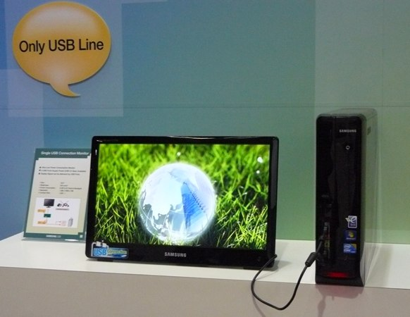 Samsung USB-powered Desktop PC Monitor