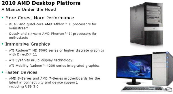 AMD 2010 Desktop Platform: Phenoms, Athlons, Radeons