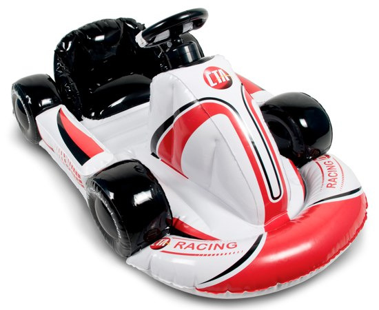 CTA Digital's Inflatable Kart for the Wii: at last you can be the coolest kid on your block