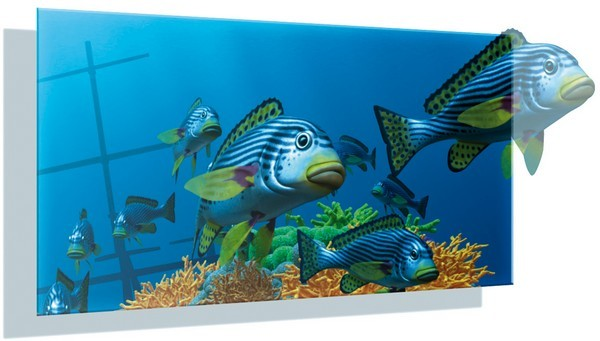 Fraunhofer's 3D posters make your fish-based advertising reallypop