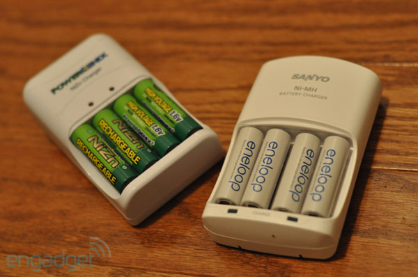 Aa Rechargeable Battery Shootout Energizer Powergenix