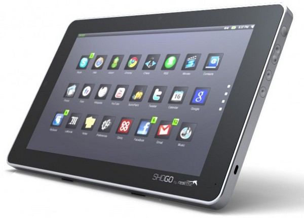 Shogo 10-inch Linux tablet is a Qook minus the recipes -- and the feet (video)