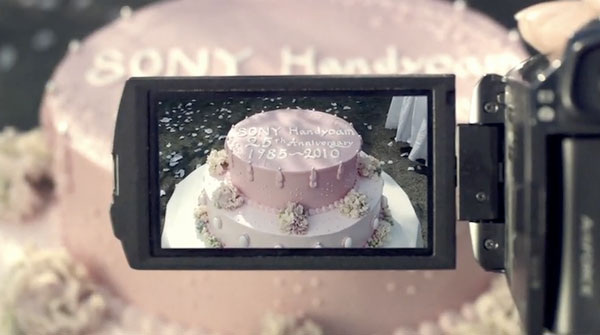 Sony Handycam celebrates 25th birthday, can now film itself renting a car