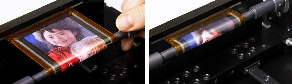 Sony Rollable OLED Display