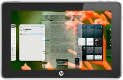 HP webOS Tablets Similar to iPads