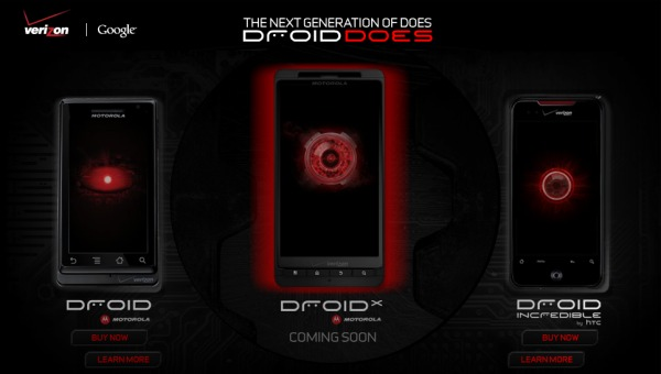 The Droid X gets real on Verizon