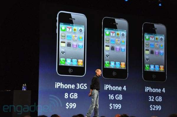 Apple Iphone 8gb Iphone 3gs Drops to $99 8gb