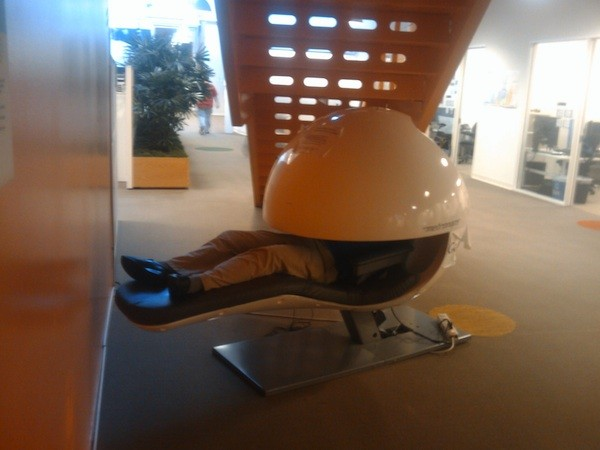 Another reason to want a job at google insane napping pods for Napping pods google