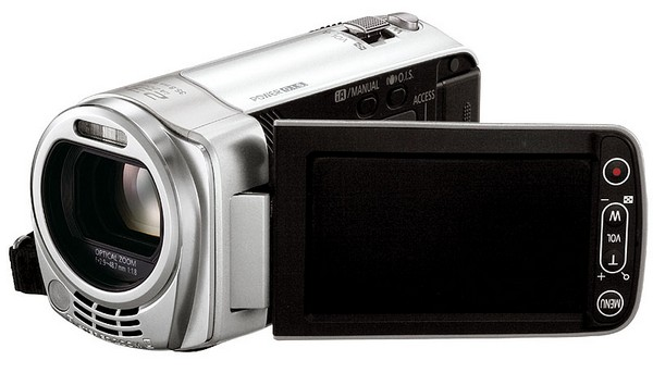 Panasonic's HDC-TM35 HD camcorder is light, lady-friendly