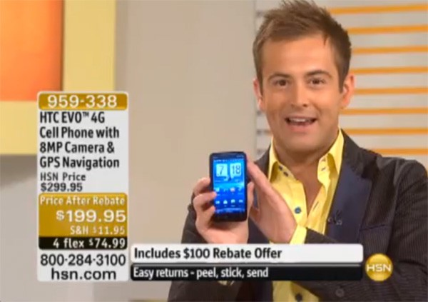 HTC EVO 4G's appearance on HSN is either a great sign, or a harbinger ...
