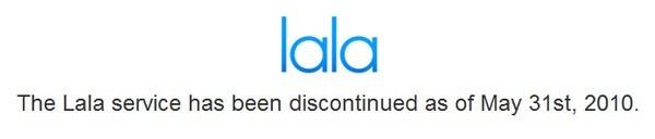 RIP Lala, we hardly knew ye