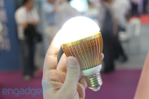 Liteon's 'Action Power Ball' LED bulb works even when the power is out