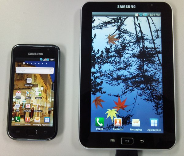 Samsung 7-inch Galaxy Tape to Run Android 2.2 on 1.2GHz A8 Processor