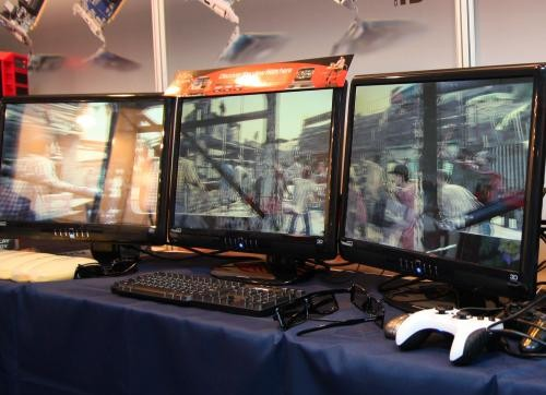 Sapphire makes multi-monitor 3D gaming from a single video card a reality