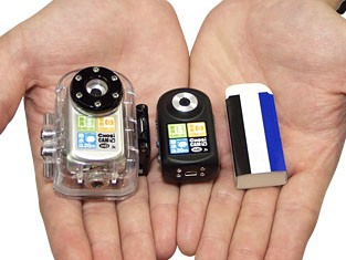 Bickham cho waterproof camera is world's smallest way to explore the great unknown