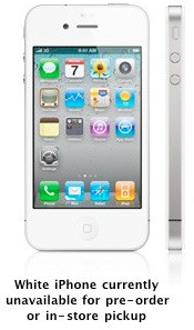 What happened to the white iPhone 4?