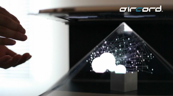 Aircord Lab's N-3D concept turns iPad into the world's least practical 3D display (video)