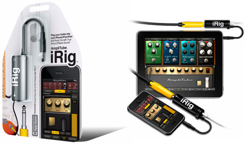 IK Multimedia AmpliTube iRig iPhone Interface Adapter