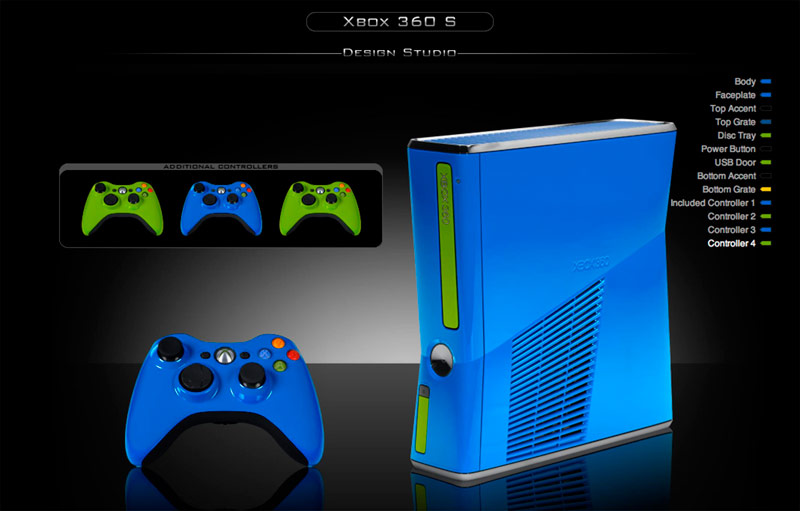 colorware jazzes up your new xbox 360s playstation universe