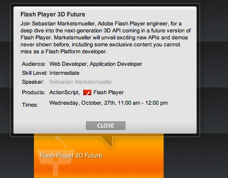 Flash Player 3D