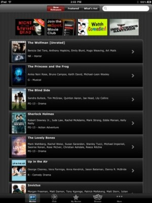 mSpot brings movie rentals to the iPad, works just fine over 3G
