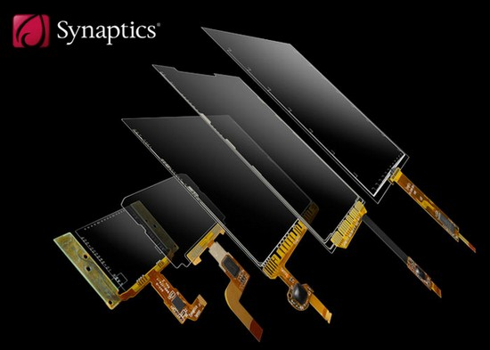 Synaptics shows off multitouch screens for multitouch tablets up to 10.1-inches