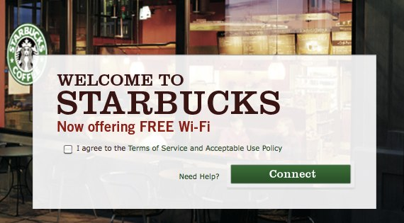 StarBucks Now Offers Free WiFi Access In US And Canada - Software to create invoices free download starbucks online store