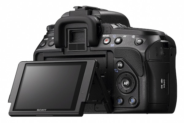 Sony Alpha A580 and A560 Shoot AVCHD 1080i or MP4 Videos