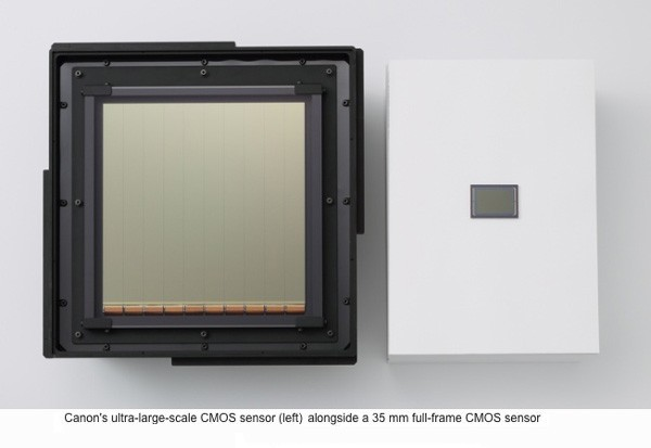 World's Largest CMOS Sensor from Canon Shoots 60fps Video in Moonlight